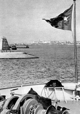 Почтовая открытка «Казань. Порт» - 1958г., СССР