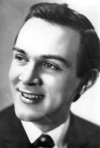 Почтовая открытка Муслим Магомаев - 1965г., СССР